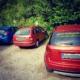 Autos mit Werbeaufkleber, Gewinnspiel